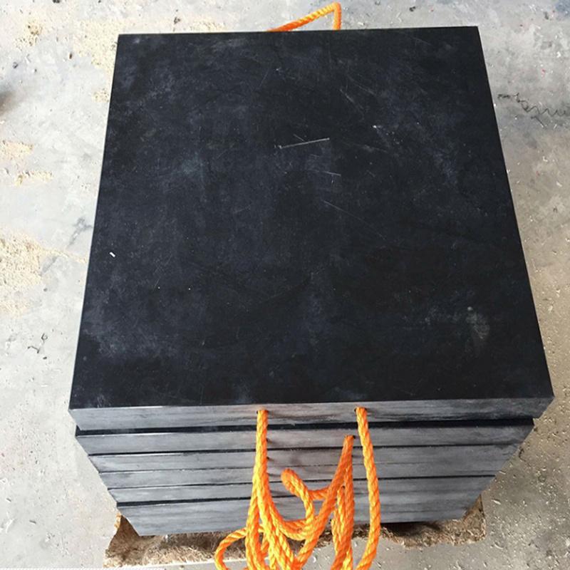 机械吊车支腿垫板 泵车高分子聚乙烯防滑垫块