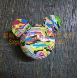 室內高爾夫練習球 泡沫球 彩虹球 玩具球 子彈球