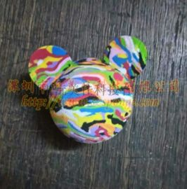 室内高尔夫练习球 泡沫球 彩虹球 玩具球   球