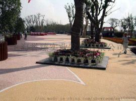海绵城市先行者,上海誉臻透水地坪材料施工