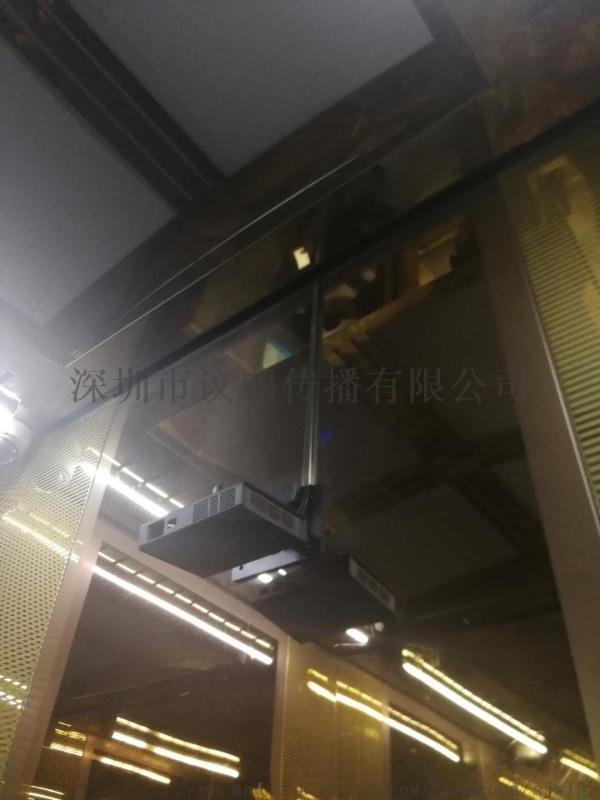 供应高清电梯长焦广告投影仪
