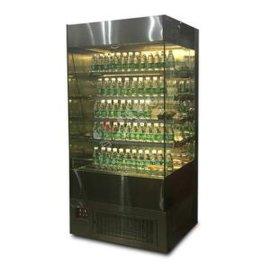 敞开式蛋糕展示柜西点饮料甜品冷藏保鲜柜
