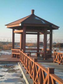 南京蘇州上海木塑護欄、北京天津河北塑木地板欄杆涼亭、貴州、貴陽銅仁塑木棧道