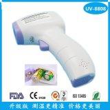 厂家直销婴儿红外线体温计非接触式温度计外贸爆款UV-8808测温仪