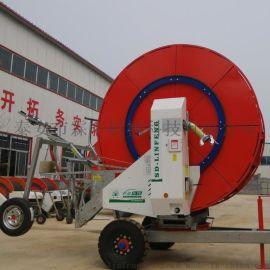 供应马铃薯西瓜甘蔗等农田节水灌溉设备 自走式喷灌机