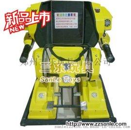 三乐行走的机器人碰碰车厂家销售价格低变形金刚简易版本