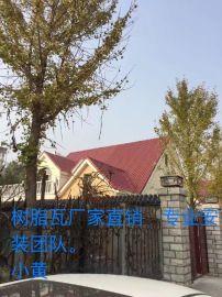 河北廊坊广阳区 合成树脂屋面瓦 树脂瓦 仿古瓦 Pvc瓦厂家直销