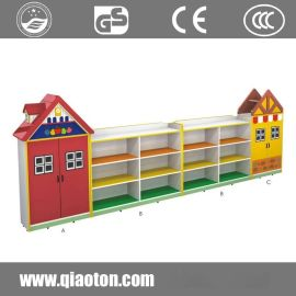 巧童QT705儿童收纳架书包柜幼儿园玩具柜