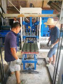 郑州甲庚3-15免烧砖机让黏土砖成为过去