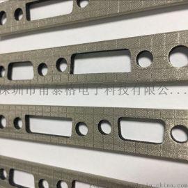 厂家直销黑色平纹导电布 双面导电布胶带 导电纤维布 导电海绵