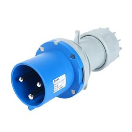 厂家直销启星/QX-1227 3芯工业插头63A大电流功率经济型插头