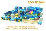室内儿童乐园儿童玩具城大型淘气堡儿童充气城堡游乐设备