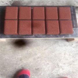 3-15全自动免烧砖机   环保渗水马路面包砖机
