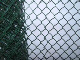 重庆浸塑球场围网 热镀锌勾花网报价 煤场菱形网 弹力耐用铁丝网