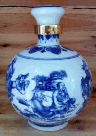 加工陶瓷瓶加工厂定制各类陶瓷酒瓶定做打样样板图