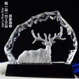 羣雄逐鹿水晶獎牌 商務贈禮企業年度表彰紀念獎牌