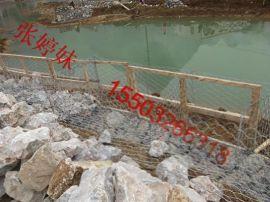 堤坡石笼网 生态护岸河道石笼网 防汛铁丝网