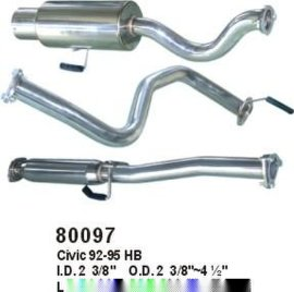 不锈钢排气管(80097)