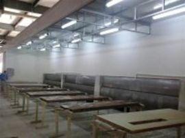 喷漆设备 环保型家具喷烤漆房    水帘式喷漆房