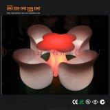 户外LED发光家具发光梅花桌子酒吧聚会创意餐椅套装