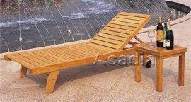 木制躺牀沙灘椅(ACW-T006)