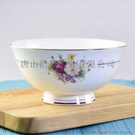 骨瓷家用米饭碗 创意促销礼品陶瓷餐具