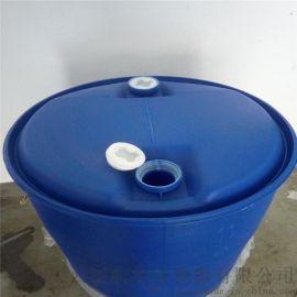 食品200升双环塑料桶 200l蓝色塑料罐