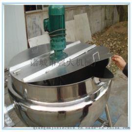 蒸汽夹层锅 带搅拌夹层锅 八宝粥熬煮锅