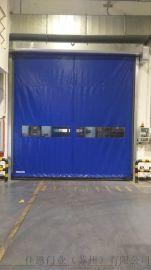 全透明快速卷帘门 PVC自动工业门