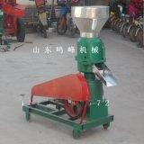 鸭子养殖用颗粒饲料机,多种模具加工饲料颗粒机