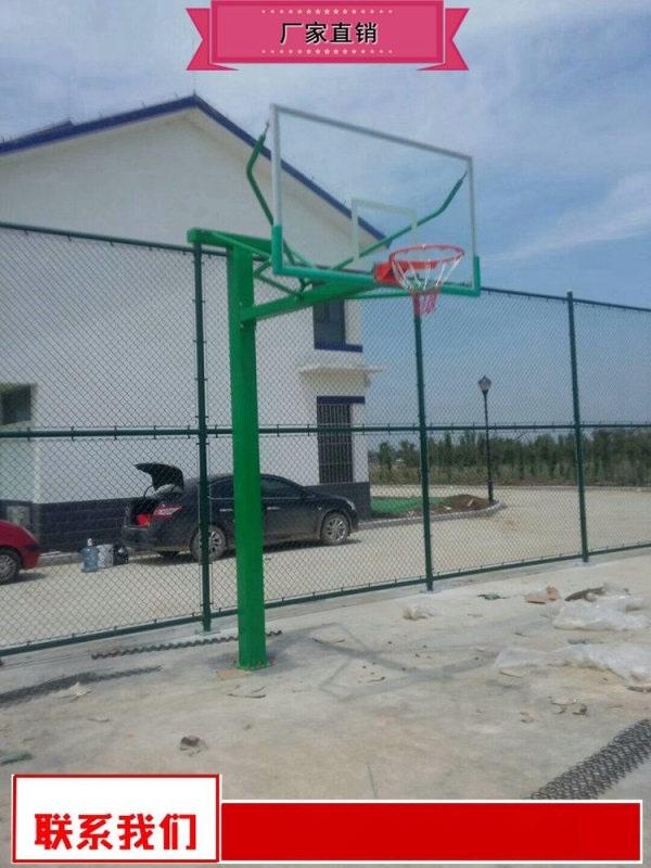 河北鋼化玻璃籃球架廠家 鋼化玻璃籃板籃球架廠家