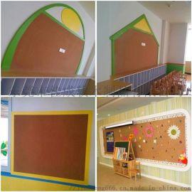 ** 幼儿园软木板 软木照片墙 软木留言板