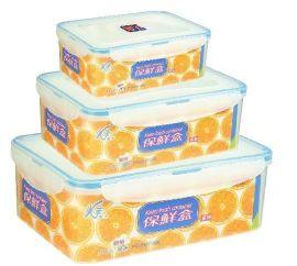 塑料微波炉保鲜盒
