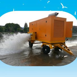 8寸农田灌溉柴油自吸泵 10寸防汛应急柴油机水泵