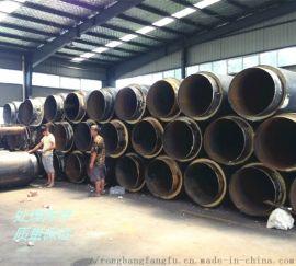 新型直埋塑套鋼熱力保溫管,聚氨酯保溫管