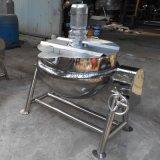 电加热夹层锅 猪肉丸子带搅拌夹层锅
