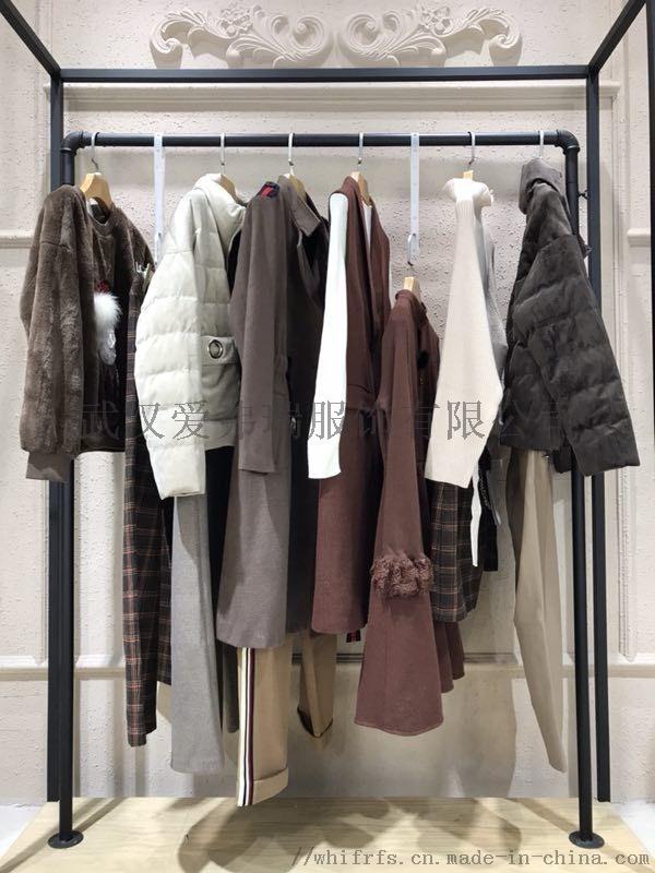 开服装店怎么找货源卓欧中年女短款羽绒服【一手货源】