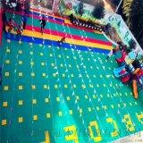 开县气垫悬浮地板篮球场塑胶地板拼装地板