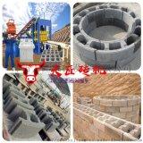 弧形检查井砖机 混凝土模块设备 排污窨井井壁砖机