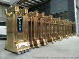 深圳鋁合金伸縮門 不鏽鋼伸縮門