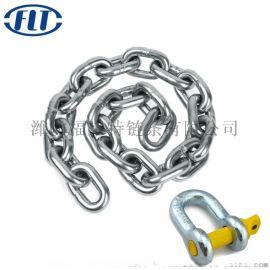 厂家直销白锌圆环链条不锈钢链条起重链条镀锌链条