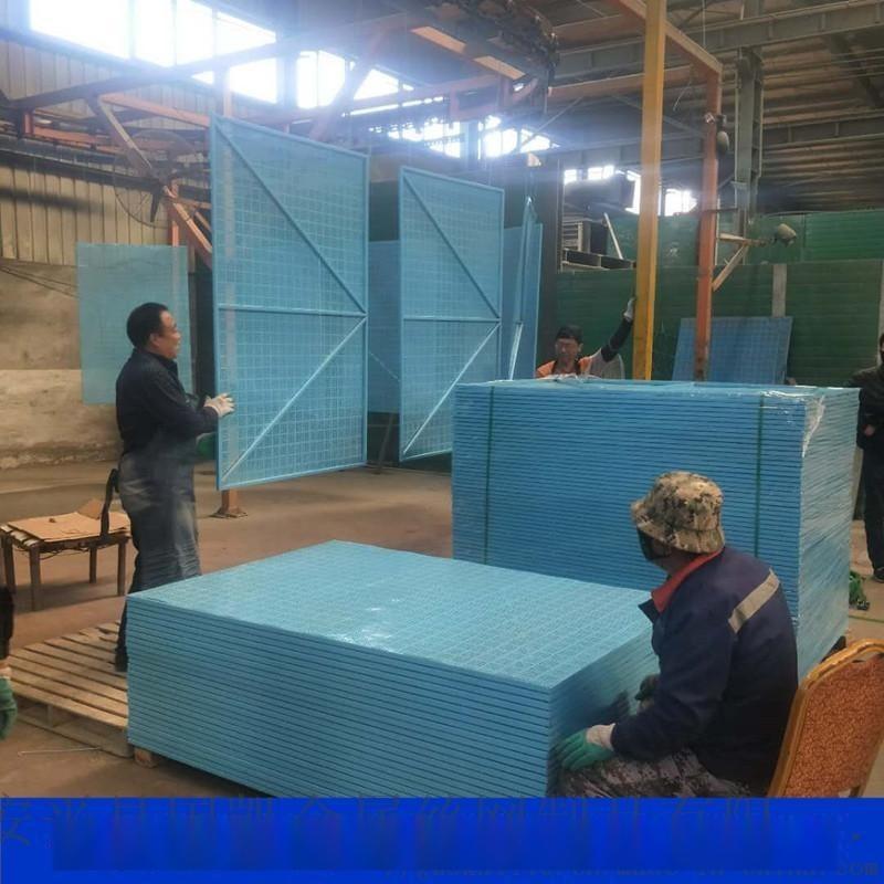 中建藍色爬架網  工地外設金屬爬架網片