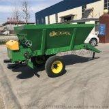 湿粪撒粪车 牵引式撒粪车 农田大面积有机肥撒粪车