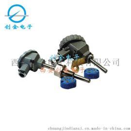一体化管道温度变送器传感器输出4-20MA