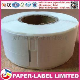 国产达美Dymo热敏兼容标签打印纸(白底黑字)