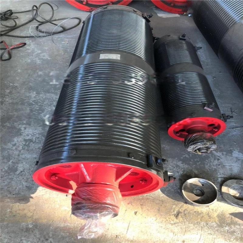 天车起升卷筒组 来图加工定做钢丝绳卷筒组长期供应