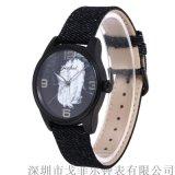Gezfeel品牌時尚女款手錶木質石英手錶一件代發
