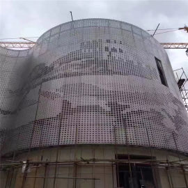 装饰批发城背景墙镂空铝单板 镂空铝单板安装厂家