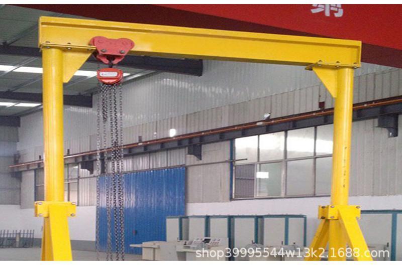 起重移动龙门吊架 模具吊车小型行车 电动葫芦吊架汽车吊架起重机