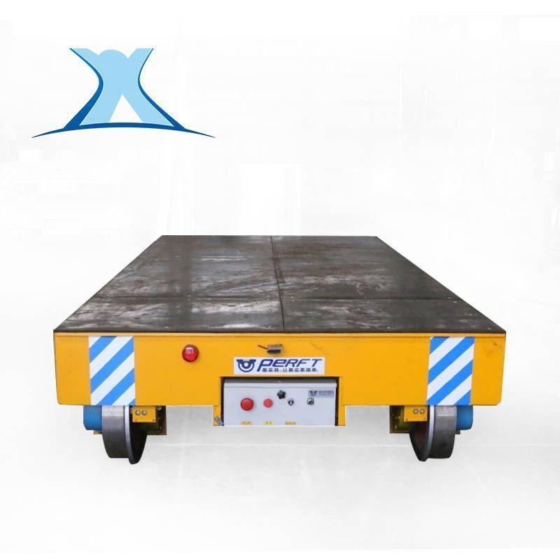 百特轨道电动平车电动搬运车轨道载重电动平板车 钢包铁水车